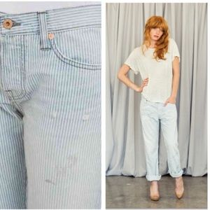 NSF | Beck Straight 100% Cotton Slouch Jeans 24